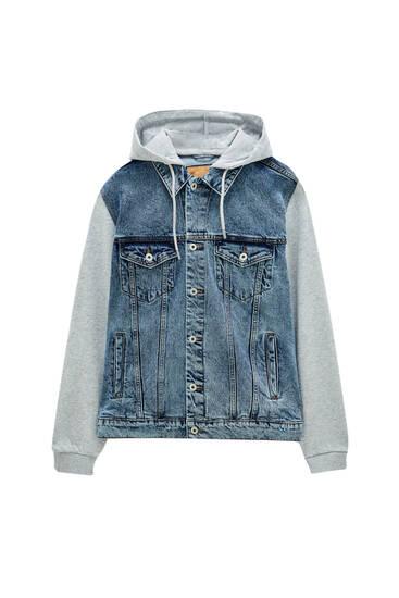 Базова контрастна джинсова куртка