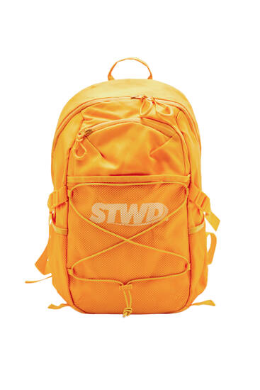 STWD backpack with mesh detail