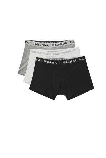 Lot boxers basiques