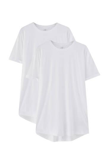 2-Pack lange T-shirts