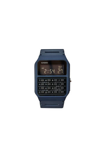 Reloj vintage Casio CA-53WF-2BEF azul