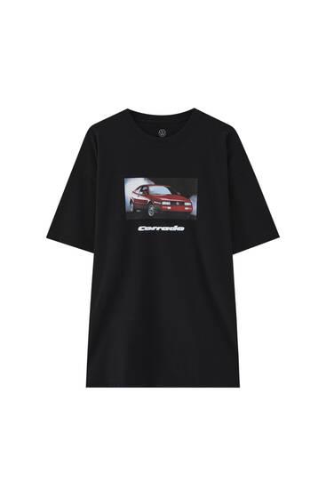 T-shirt Volkswagen Corrado rouge