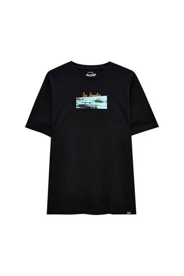 """Black """"Los Angeles"""" T-shirt"""