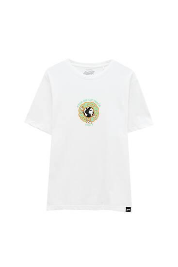 Біла футболка Global Farmland