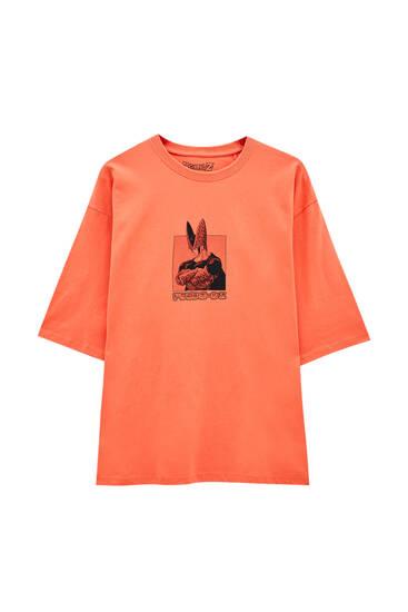 Orange Dragon Ball T-shirt
