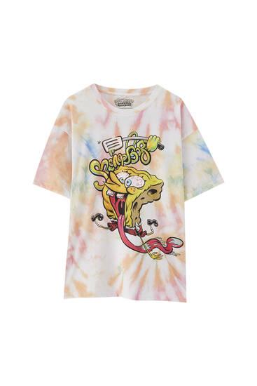 Tie-dye SpongeBob T-shirt