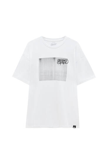 White T-shirt with SWTD photo