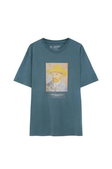 Camiseta gris Vincent van Gogh