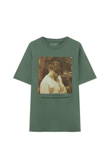 Camiseta verde Henri de Toulouse-Lautrec
