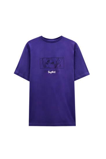 Mauve Naruto T-shirt