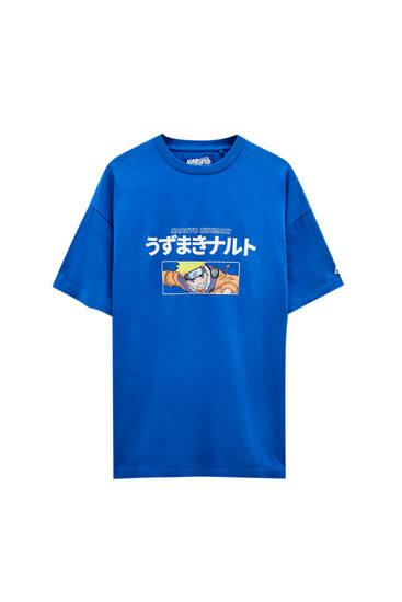 Playera Naruto azul oscuro