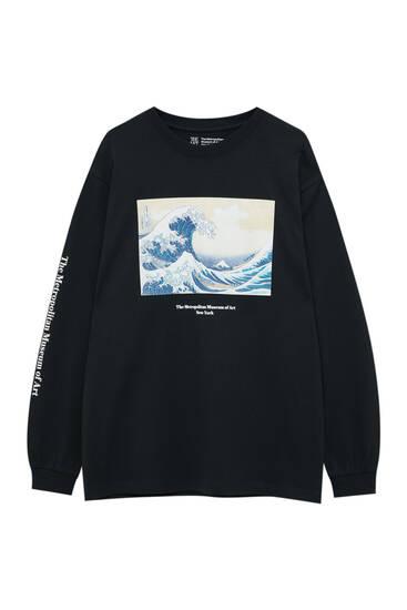 T-shirt La grande vague de Kanagawa