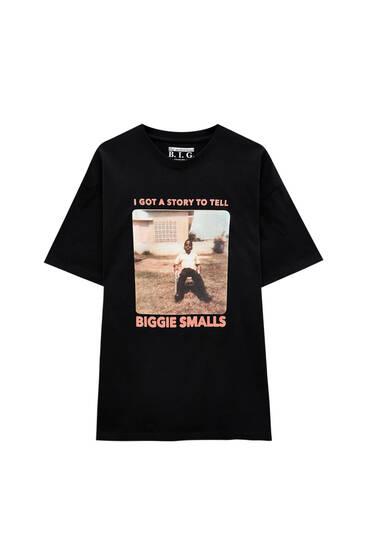 Camiseta The Notorious Big negra