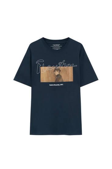 Schwarzes Shirt Gaston Bonnefoy