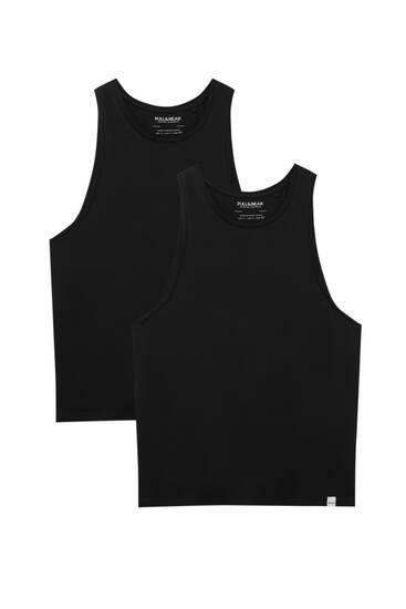 Σετ με 2 μπλούζες με τιράντες