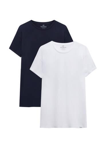 T-Shirts im Muscle-Fit im Set