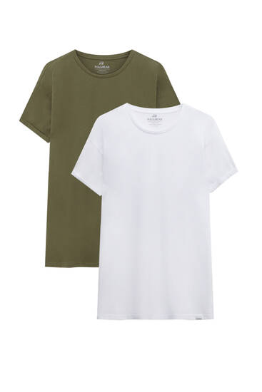 Pack camisetas muscle fit manga corta