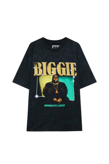 "Schwarzes Shirt The Notorious Big ""Biggie"""
