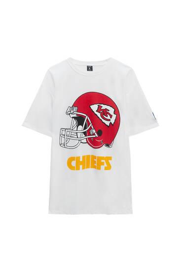 White NFL Chiefs T-shirt