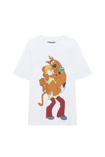 Playera Scooby-Doo blanca