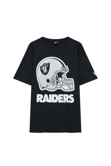 Black NFL Raiders T-shirt