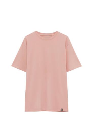 Basic coloured short sleeve T-shirt