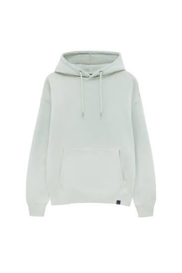 Sweatshirt básica com capuz