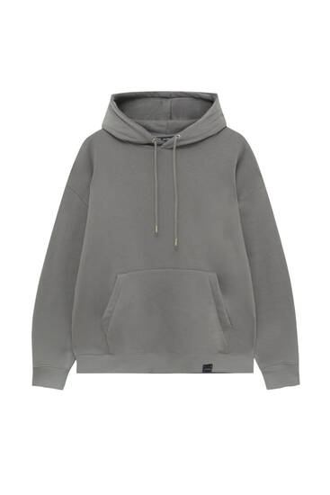 Pouch pocket hoodie