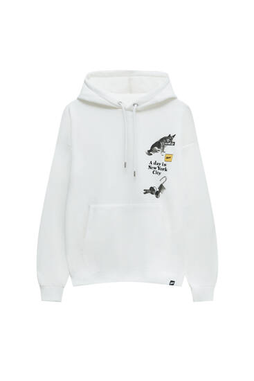 """""""A Day in New York City"""" hoodie"""