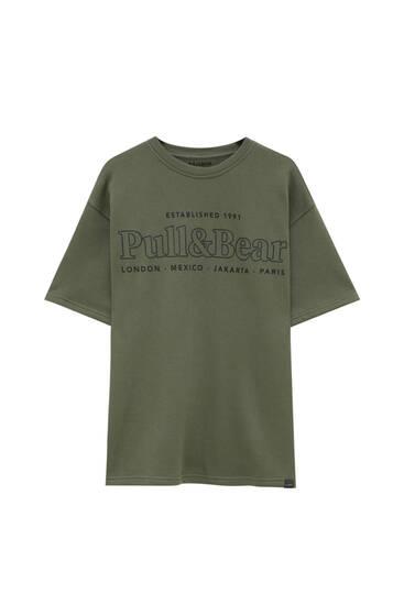 Majica od felpe s logotipom