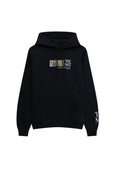 Black The Met hoodie