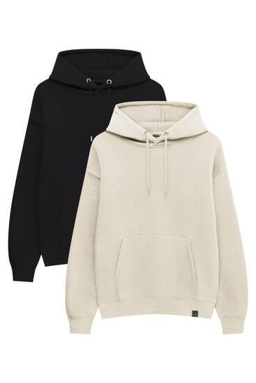 Pack of basic hoodies