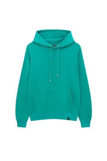 Basic colourful hoodie
