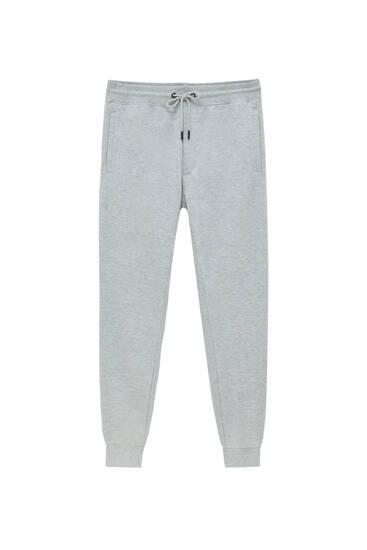 Pantalón jogger tejido fleece
