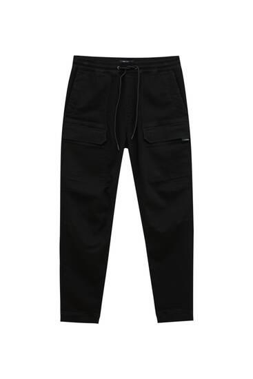 М'які на дотик трикотажні штани-карго