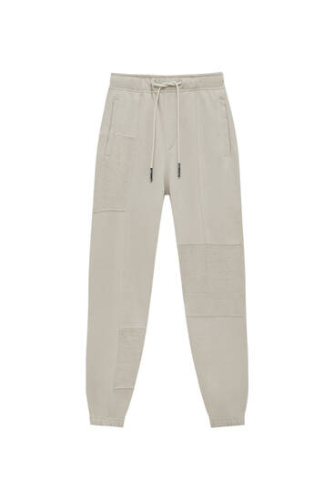 Panelled STWD cargo joggers