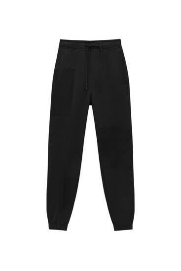 Pantalón jogger paneles STWD