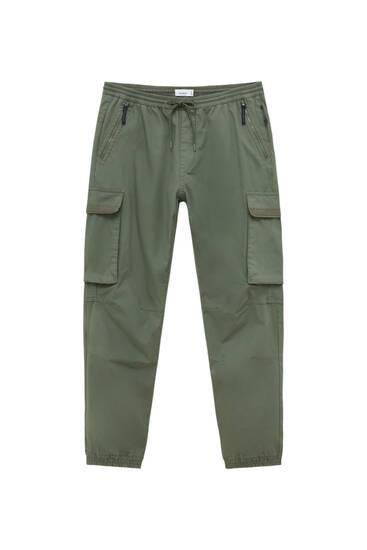 Pantaloni cargo ripstop