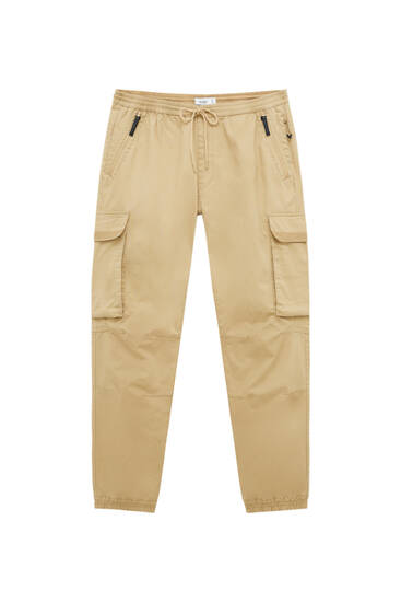 Ripstop cargo trousers