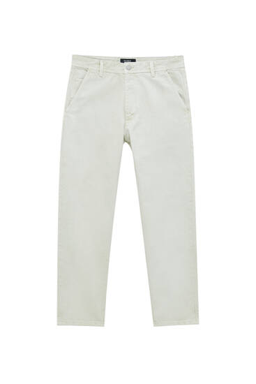 Standard fit chino trousers