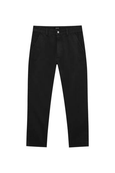 Pantalon chino standard fit