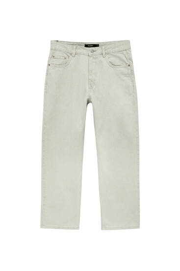 Faded standard fit jeans