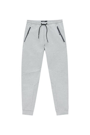 Basic joggers with contrast pockets