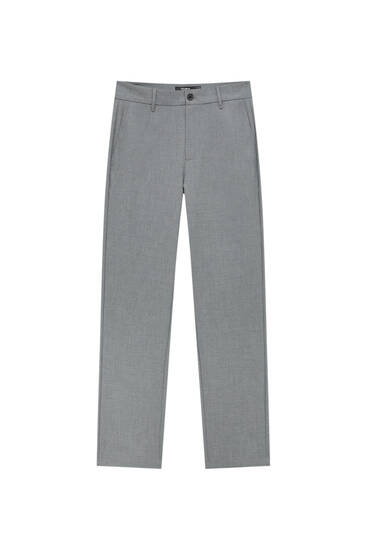 Comfort fit tailored trousers