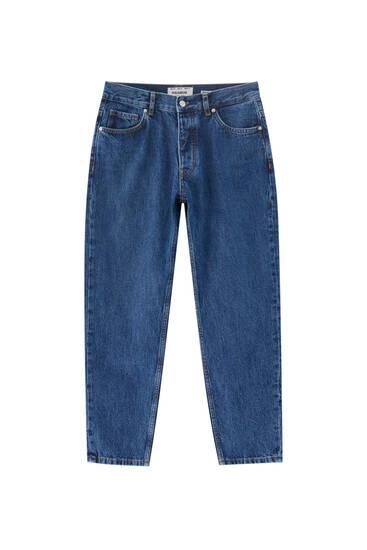 Базовые джинсы прямого кроя