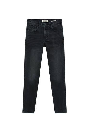 Schwarze Basic Jeans im Skinny-Fit