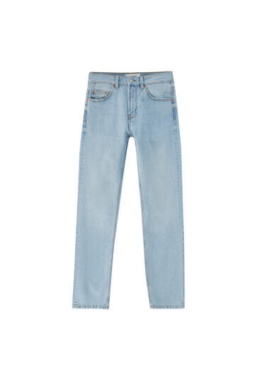 Базові джинси зручного крою