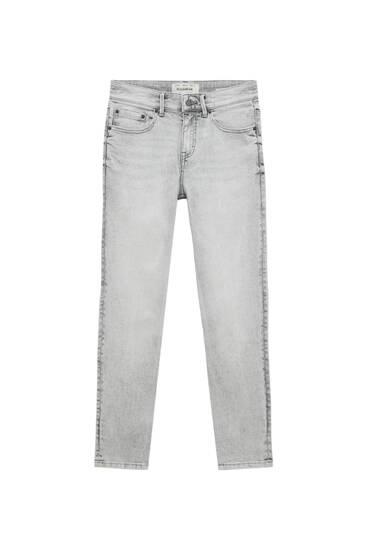 Superskinny-Jeans in Grau