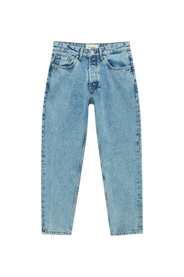 Standard fit basic jeans