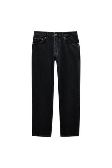 Jeans básicas de corte wide leg